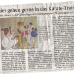 Karatetraining EMS